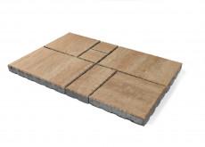 Тротуарная плитка «Патио» Плато, h=60 мм