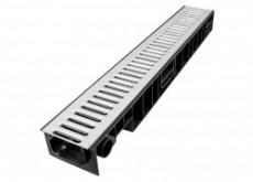 Лоток Ecoteck STANDART 100.95 h99 с решеткой стальной, кл.А15