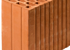 КЕРАКАМ керамический блок 25+ М-100, 250х129х219 мм