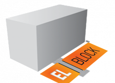 Газобетонный блок стеновой D500  EL-BLOCK