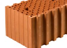 КЕРАКАМ керамический блок 38 термо М-100, 380х260х219 мм