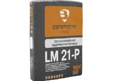 Теплоизоляционная кладочная смесь: LM 21-P, упаковка 20 кг