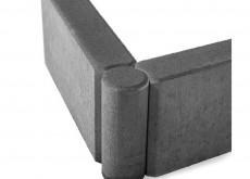 Бордюр тротуарный шарнирный БРШ 500*200*78 серый