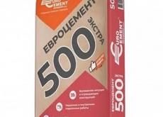 Цемент М-500 Д0 EUROCEM 50кг