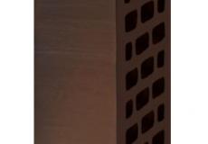 Кирпич облицовочный пустотелый БАВАРСКАЯ КЛАДКА 1 НФ Графит гладкий М-200, ВЫШНЕВОЛОЦКИЙ КЗ, 250х120х65 мм.