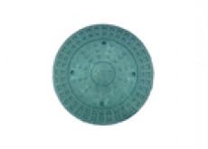 Люк 315 Политэк зеленый полимер-песчаный