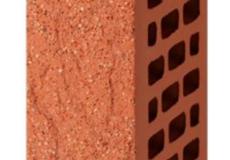 Кирпич облицовочный пустотелый 1 НФ Красный (дуб, лава, старая стена, антика)с песком М-200, ВЫШНЕВОЛОЦКИЙ КЗ , 250х120х65 мм.