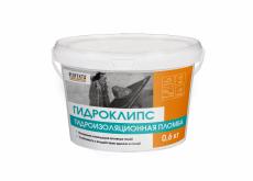 Гидроизоляционная пломба Гидроклипс, 0,6 кг