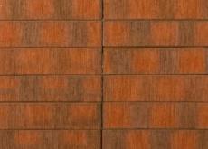 Кирпич облицовочный Terka Wienerberger 0,7 НФ , Red Flame F2F Шероховатый, 250х85х65 мм