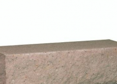 КИРПИЧ РВАНЫЙ УГЛОВОЙ РОЗОВЫЙ ДКЛТ, КЗ Авангард, 225х95х65 мм.