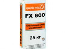 FX 600 Плиточный клей, улучшенный