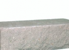 КИРПИЧ РВАНЫЙ УГЛОВОЙ СЕРЫЙ ДКЛТ, КЗ Авангард, 225х95х65 мм.