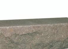 КИРПИЧ РВАНЫЙ УГЛОВОЙ СВЕТЛО-КОРИЧНЕВЫЙ ДКЛТ, КЗ Авангард, 225х95х65 мм.