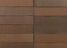 Кирпич облицовочный Terka Wienerberger 0,7 НФ , Terra Flame Гладкий  черно-коричневый гладкий, 250х85х65 мм