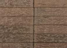 Кирпич облицовочный Terka Wienerberger 0,7 НФ , Terra Flame С Песком  черно-коричневый пестрый, 250х85х65 мм