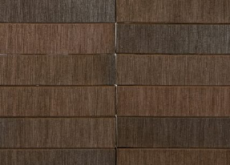 Кирпич облицовочный Terka Wienerberger 0,7 НФ , Terra Flame Шероховатый  чёрно-коричневый пёстрый, 250х85х65 мм