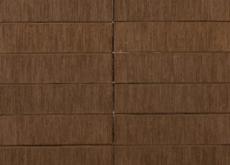 Кирпич облицовочный Terka Wienerberger 1 НФ , Terra Шероховатый коричневый , 250х120х65 мм