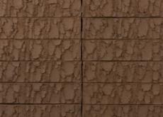 Кирпич облицовочный Terka Wienerberger 0,7 НФ , Terra Vulcano  коричневый, 250х85х65 мм