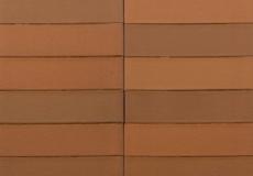 Кирпич облицовочный Terka Wienerberger 0,7 НФ , Terrakota Гладкий коричневый пестрый, 250х120х65 мм