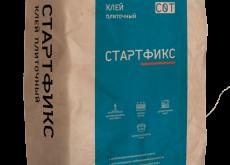 Клей плиточный без вертикального сползания Стартфикс C0 T, 40 кг