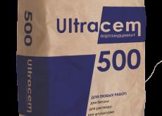 Портланд цемент Ultracem 500, 50 кг